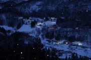 入選:山里の明かり