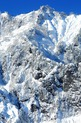 入選:雪の峰