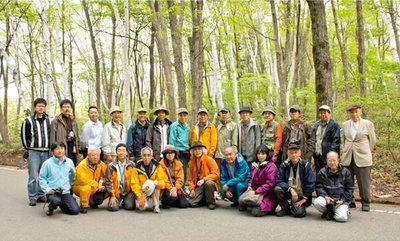 新緑の秋山郷撮影会報告